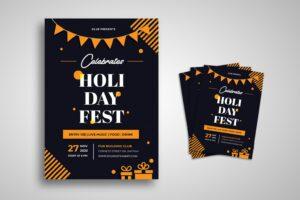 flyer fun holiday fest