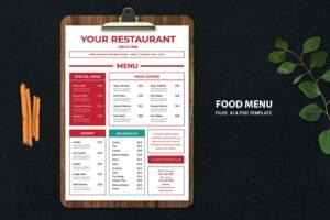food menu original favorite resto