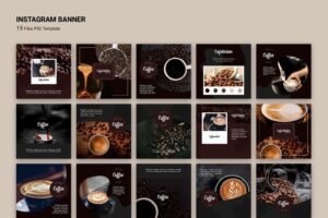 instagram banner special natural coffee 5