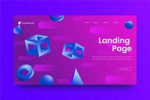 abstract background 3d space build theme