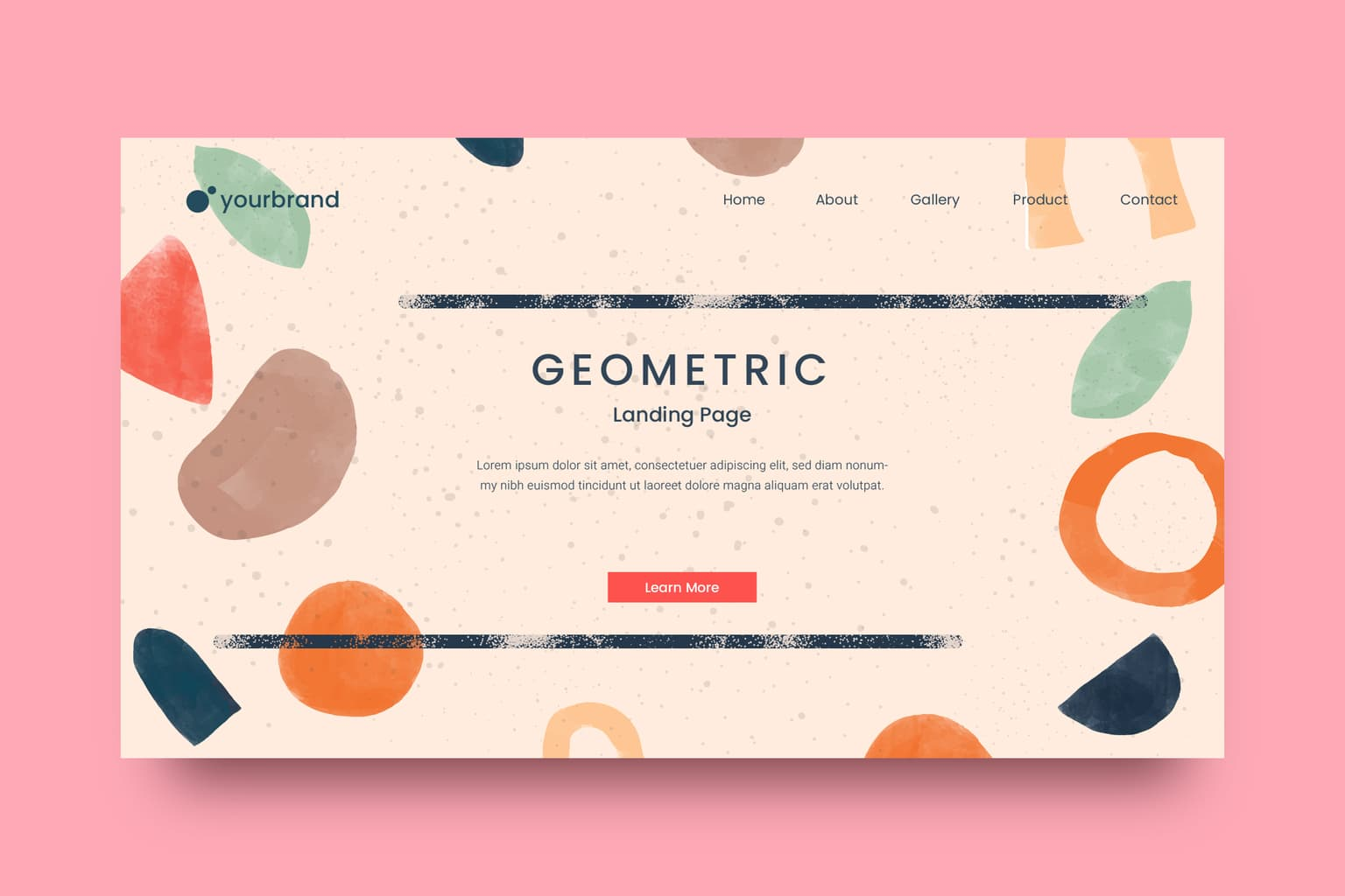 abstract background handmade geometric themes