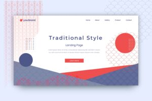 abstract background traditional japanese style