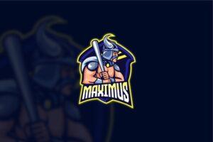 esport logo the maximus