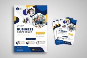 flyer business meeting conference 1