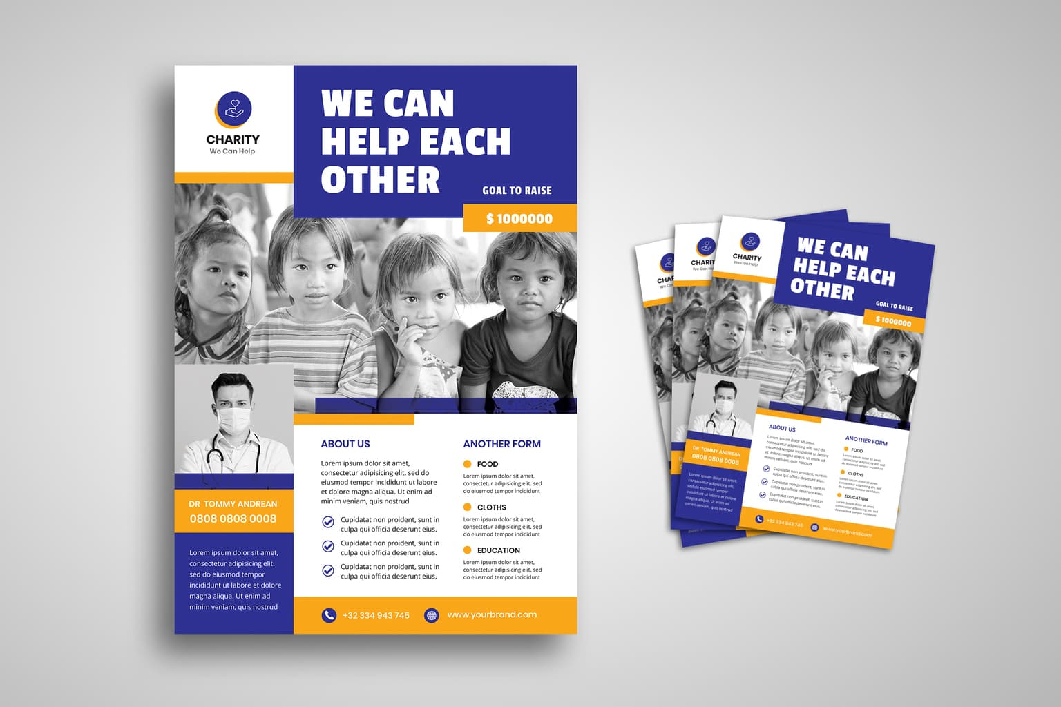 flyer charity care for children 1