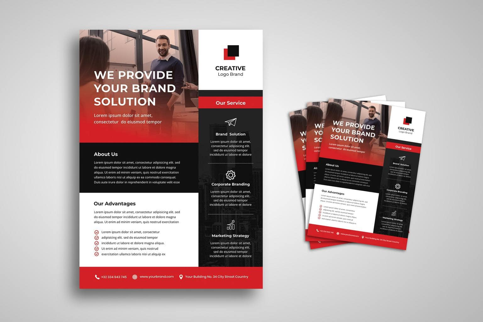flyer corporate marketing strategy