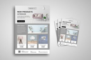 flyer creative interior design