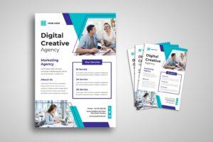 flyer digital marketing service