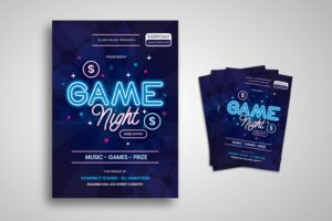 flyer game night music