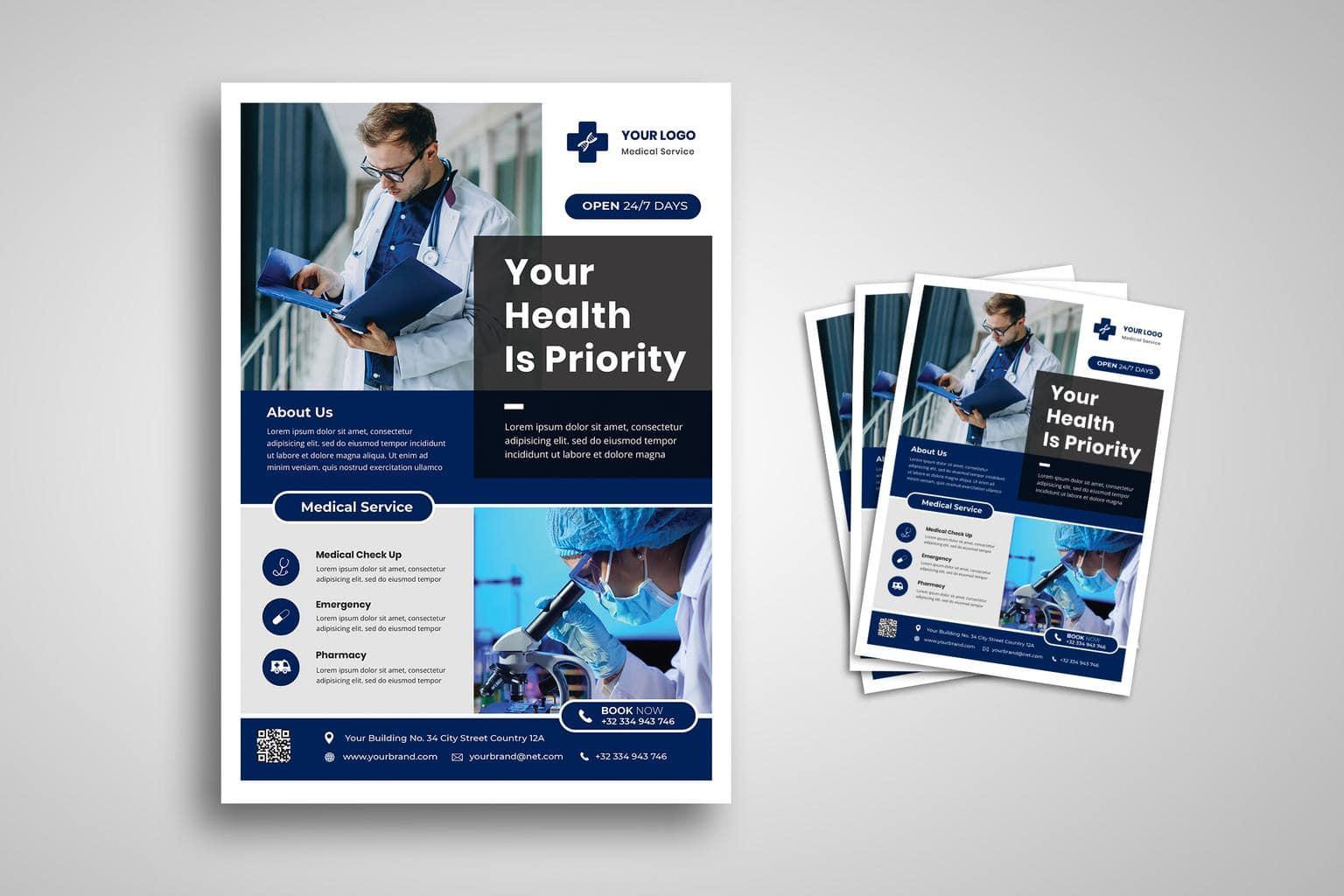flyer health medical priority