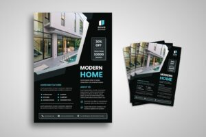 flyer modern style home 3