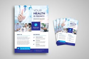 flyer pharmacy lab healthy care 2