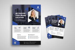 flyer provide brand solution 3