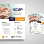 flyer social charity foundation
