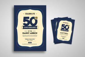flyer special birthday celebration