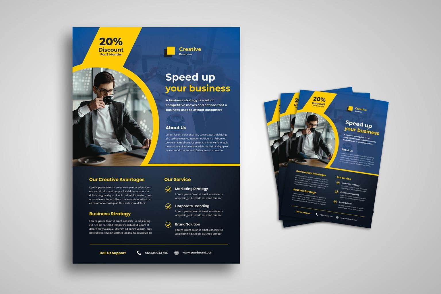 flyer speed up business