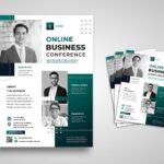 flyer webinar business