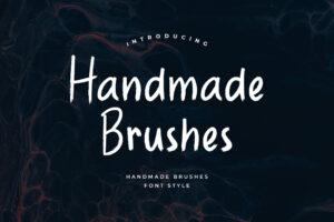 fonts handmade brushes