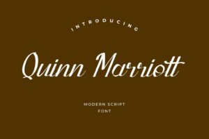 fonts quinn marriott