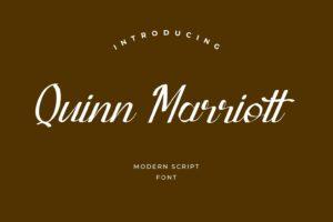 fonts quinn marriott