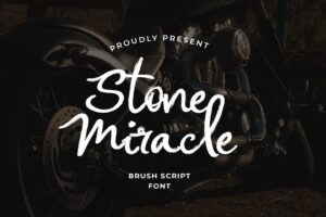 fonts stone miracle brush