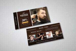 gift card voucher barbershop discount