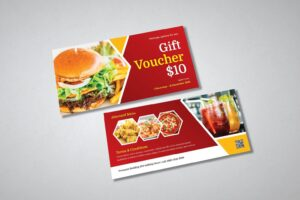 gift card voucher delicious discount food