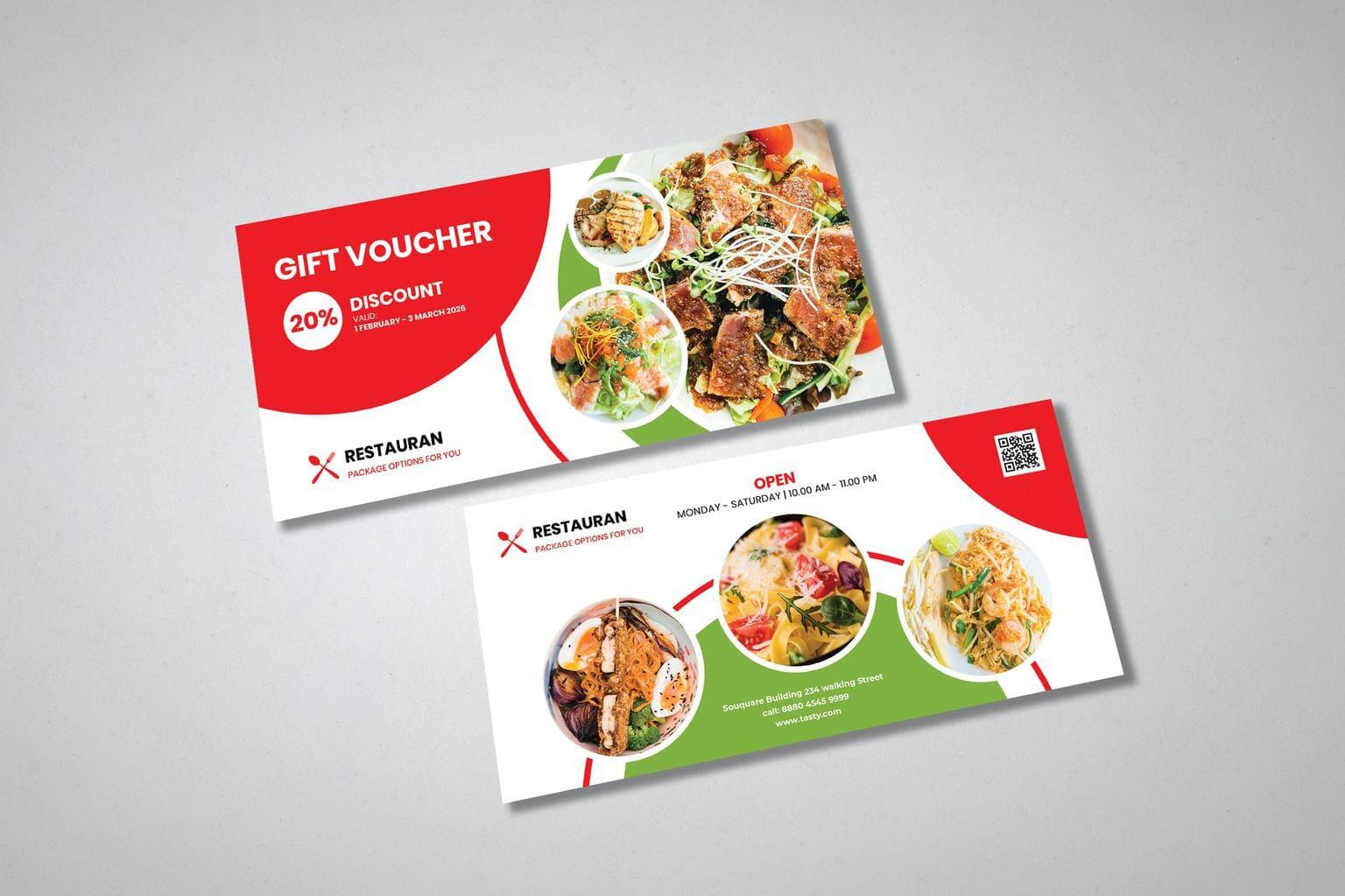 gift card voucher discount favourite resto