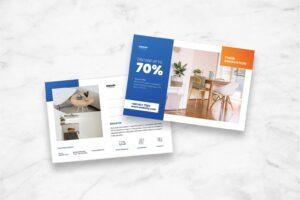 postcard minimalist property style