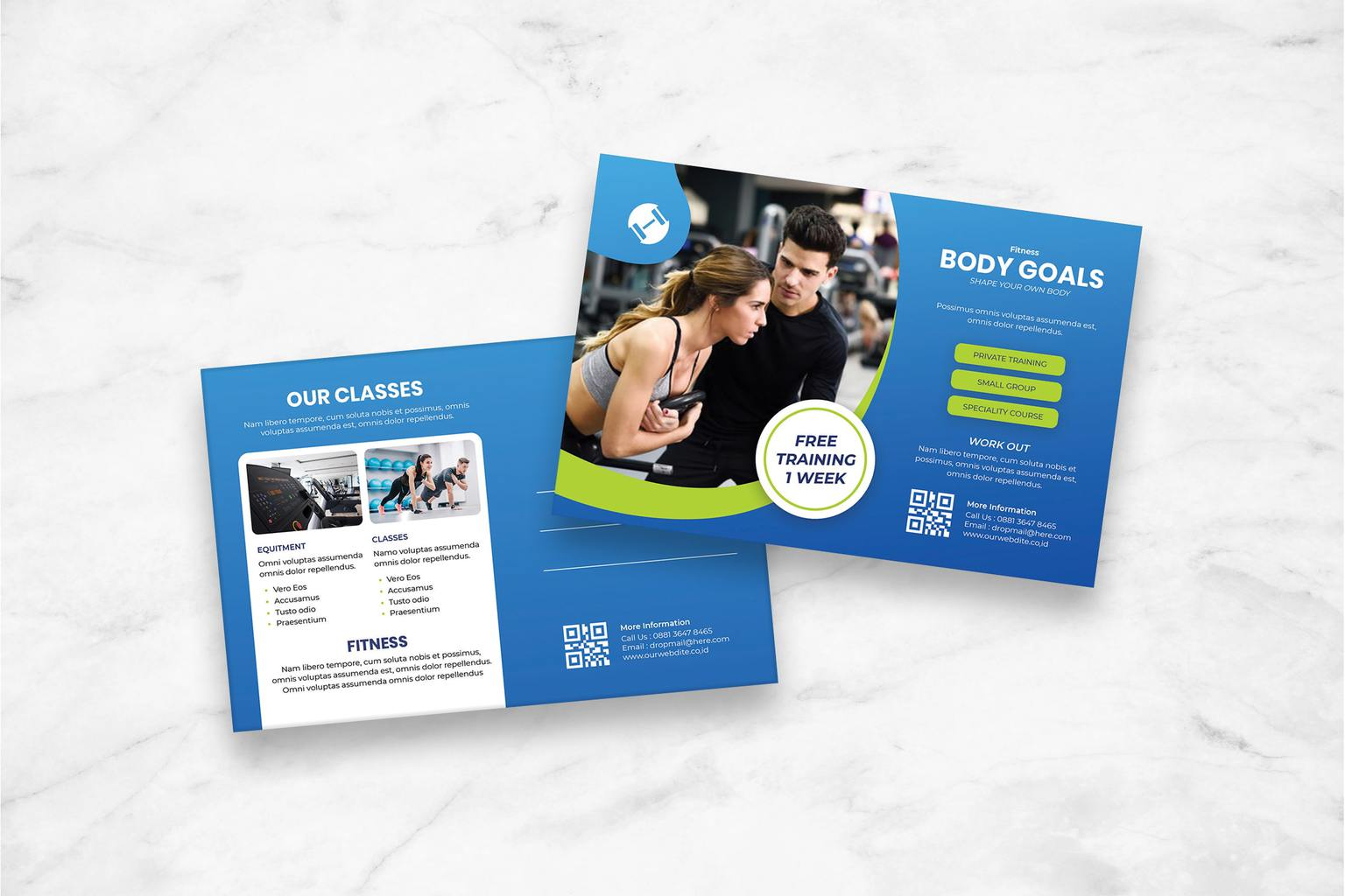 postcard training fitness center 1
